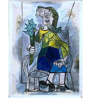Woman With Artichoke 1941
